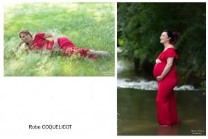 Robe coquelicot