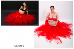 Robe tulipe
