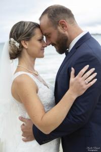 Photographe émotions lors d'un mariage vendéen