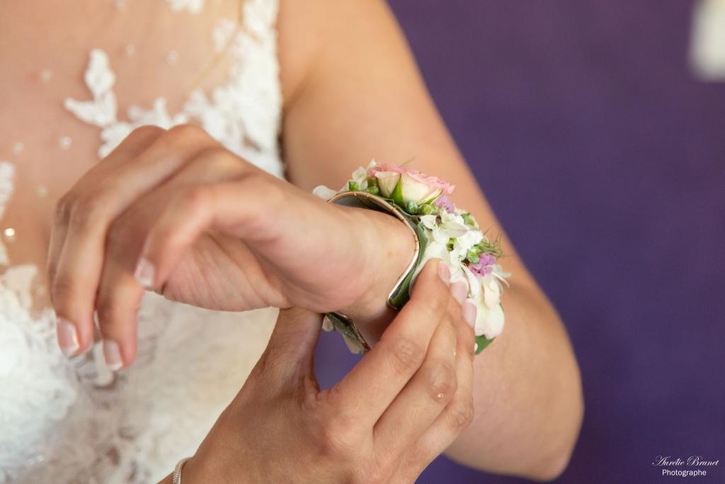 photographie de mariage en vendee bijoux mariee