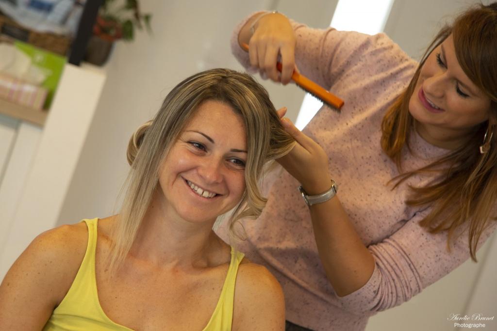 preparatifs du mariage coiffure a domicile