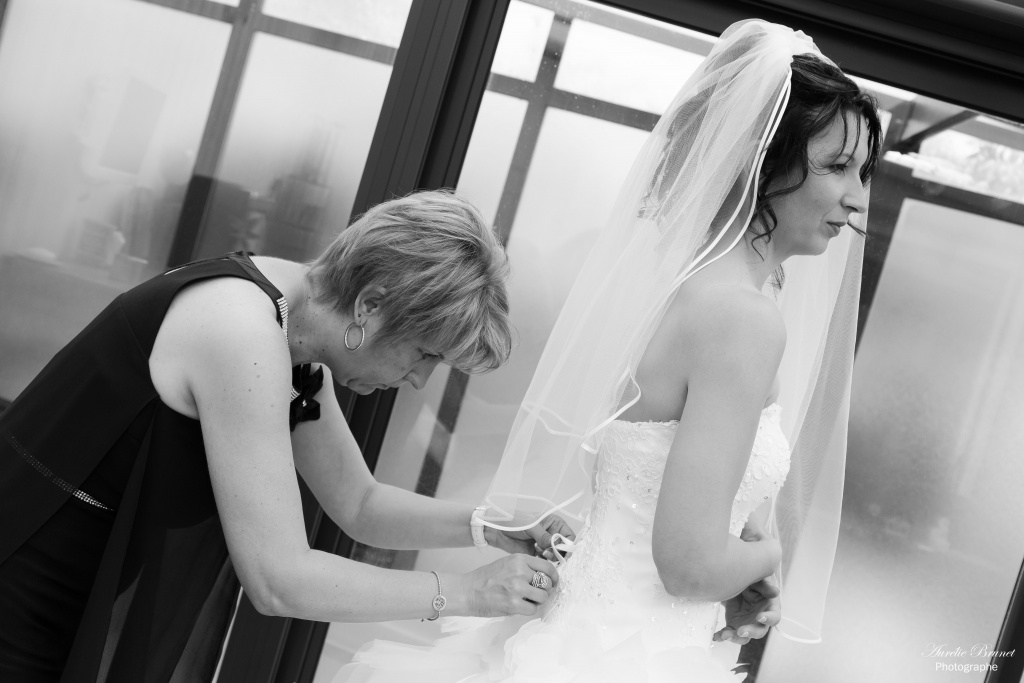 photo preparation mariee mariage vendeen